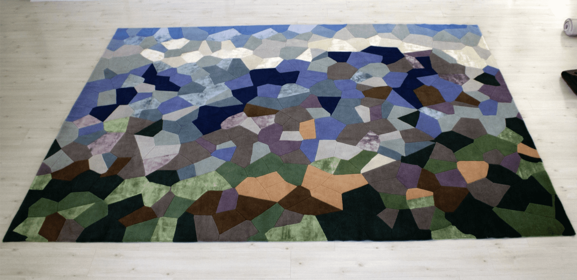 El Avila – The iconic mountain in an artist abstraction